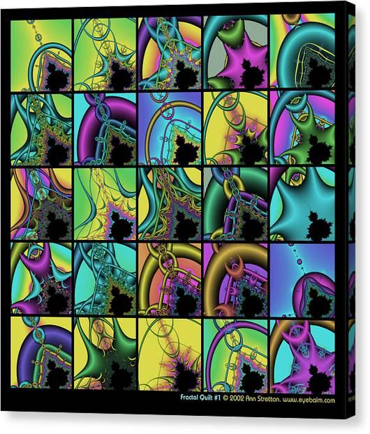 Fractal Quilt 1 Canvas Print
