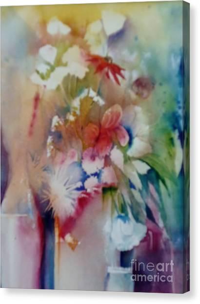 Fragile Flowers Canvas Print