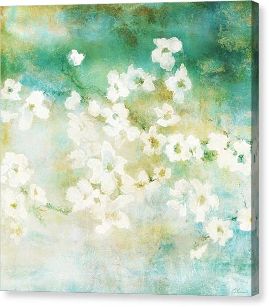 Fragrant Waters - Abstract Art Canvas Print