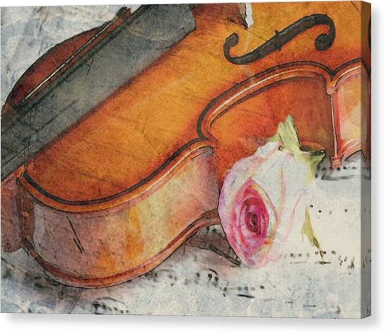 Fragrant Musik Canvas Print