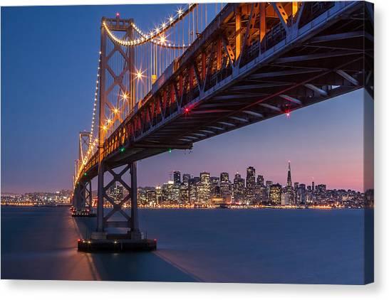 Framing San Francisco Canvas Print