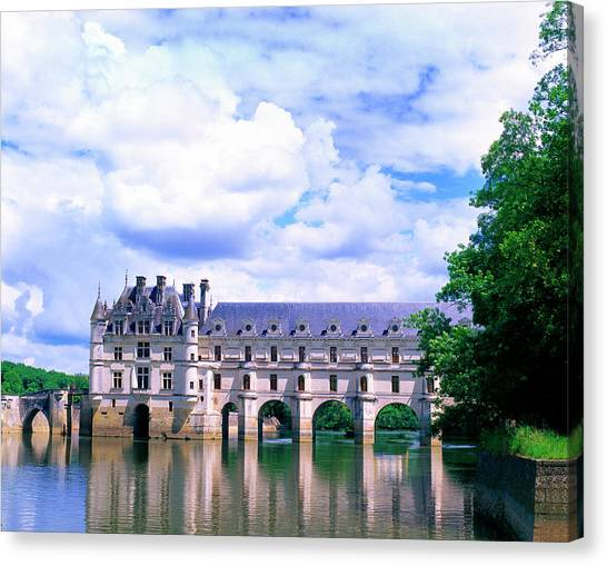Chenonceau Castle Canvas Print - France, Loire Valley by Jaynes Gallery