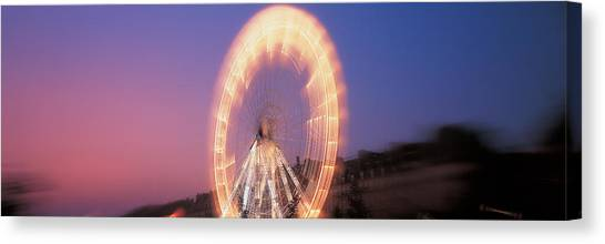 Accelerate Canvas Print - France, Paris, Tuilleries by Panoramic Images