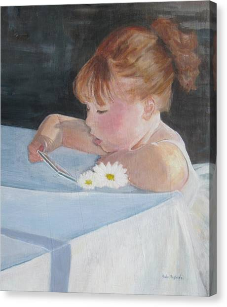 Francesca Grace Canvas Print
