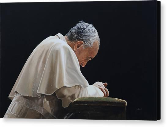 Francis Canvas Print - Francesco by Guido Borelli