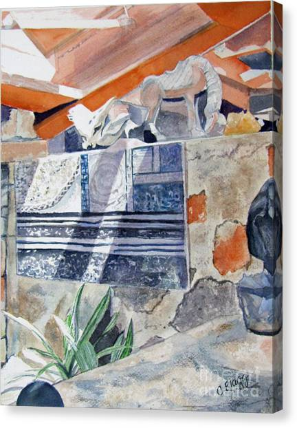 Frank Lloyd Wright Taliesin West 2 Canvas Print