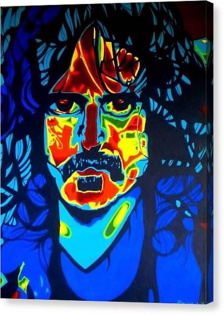 Frank Zappa Canvas Print - Frank Zappa by The Empress