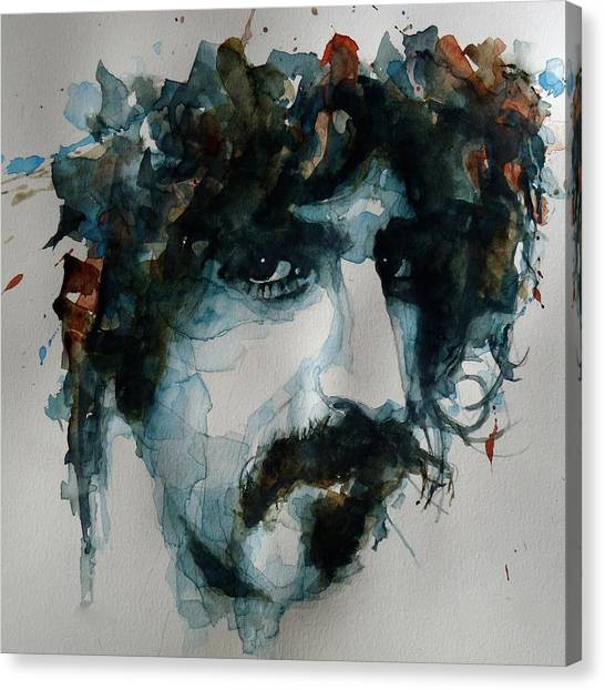 Emotions Canvas Print - Frank Zappa by Paul Lovering