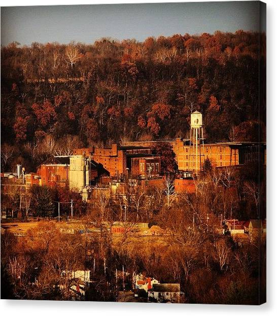 Distillery Canvas Print - Frankfort In Autumn  by Roth Gray