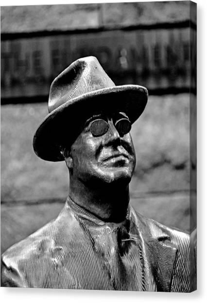 Franklin D. Roosevelt Canvas Print - Franklin Delano Roosevelt Memorial by Brendan Reals