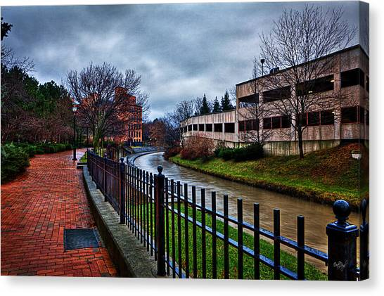 Syracuse University Canvas Print - Franklin Park by Everet Regal