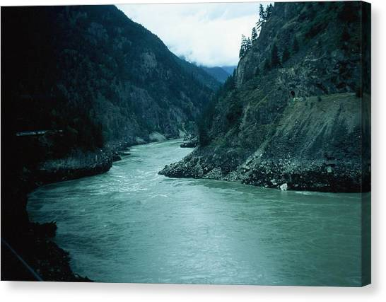 Fraser River Canvas Print by Dick Willis