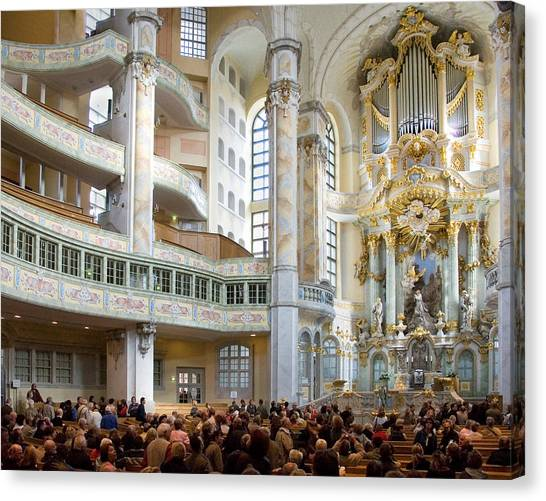 Frauenkirche Canvas Print