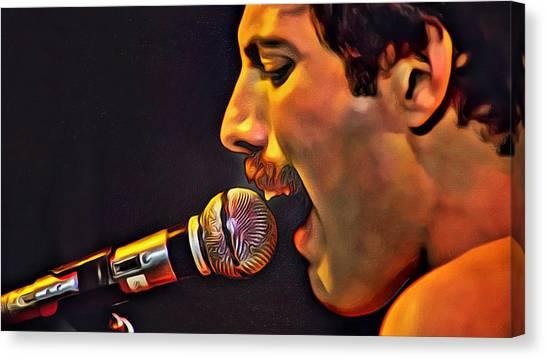 Freddie Mercury 2 Of 4 Canvas Print