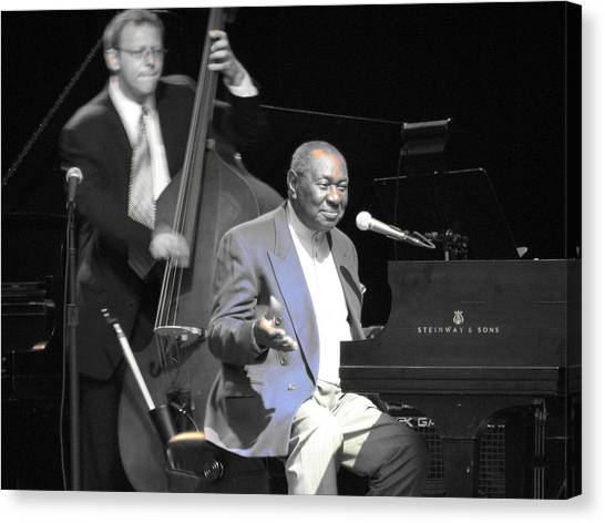 Freddy Cole And Elias Bailey Canvas Print by Cleaster Cotton