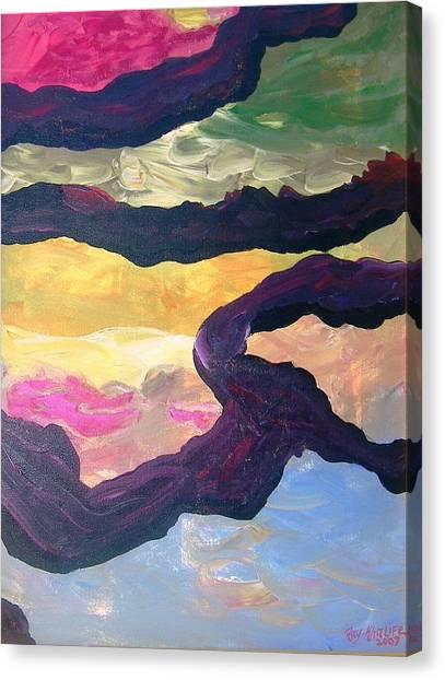 Free Fall Canvas Print