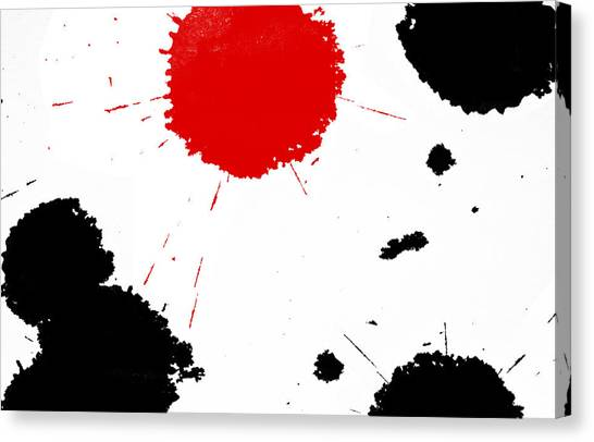 Freedom / Blood And Ink Canvas Print