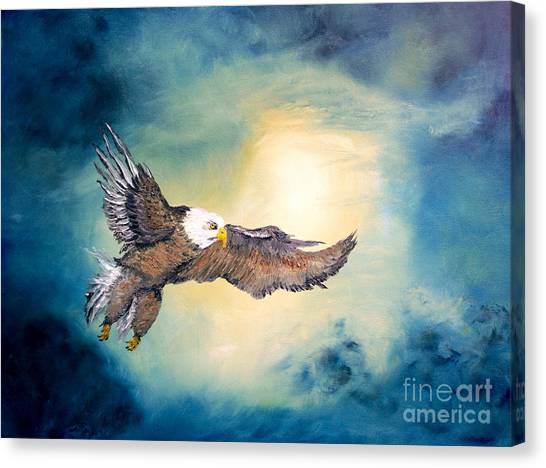 Freedom Flyer Canvas Print