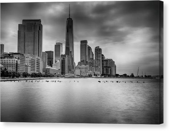 Freedom In The Skyline Canvas Print