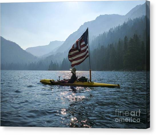 Freedom Of The Sierras Canvas Print by Cheryl Wood