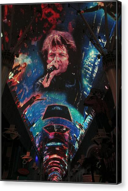 Fremont Street Experience Canvas Print