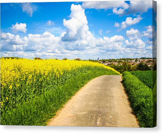 French Countryside Canvas Print
