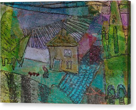 French Farm Canvas Print