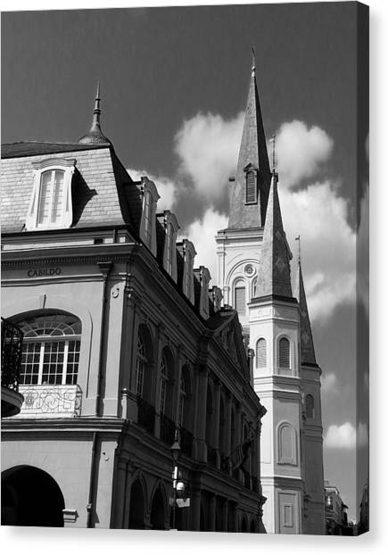 French Quarter - New Orleans Canvas Print by Mike Barch