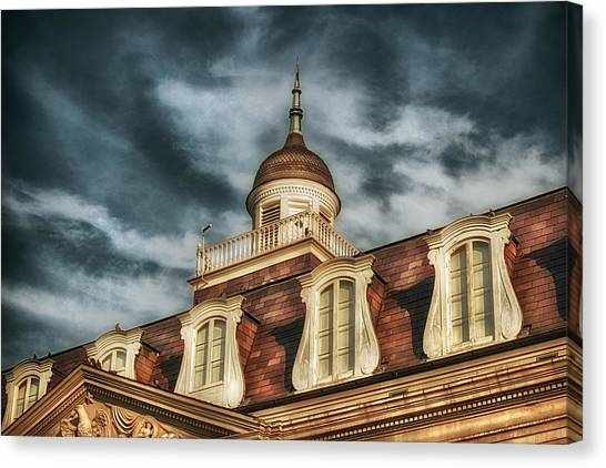 French Quarter Skies Canvas Print