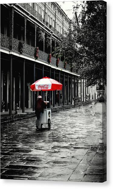 French Quarter Solitude...... Canvas Print