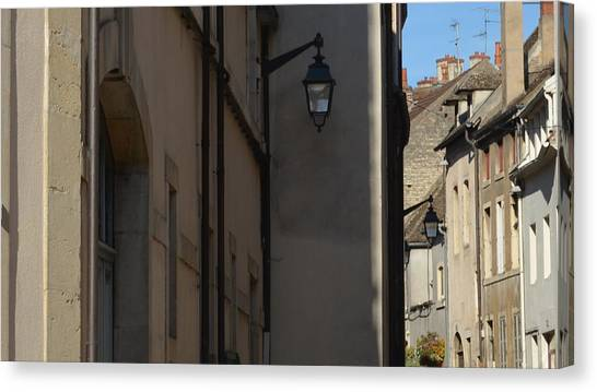 French Terraces Canvas Print