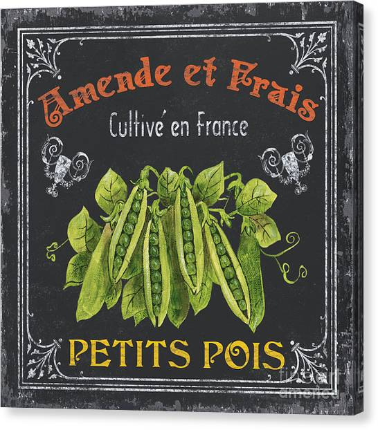 Organic Canvas Print - French Vegetables 2 by Debbie DeWitt