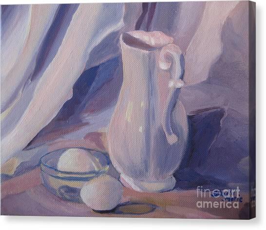 Fresh Farm Eggs Canvas Print