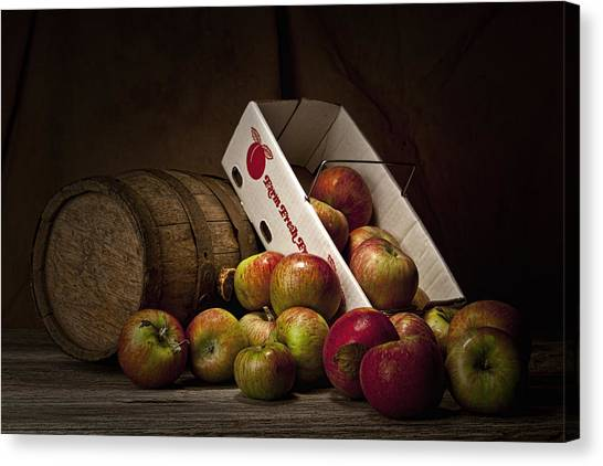 Fruit Baskets Canvas Print - Fresh From The Orchard I by Tom Mc Nemar
