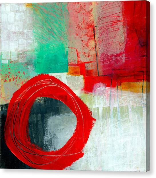 Collage Canvas Print - Fresh Paint #6 by Jane Davies