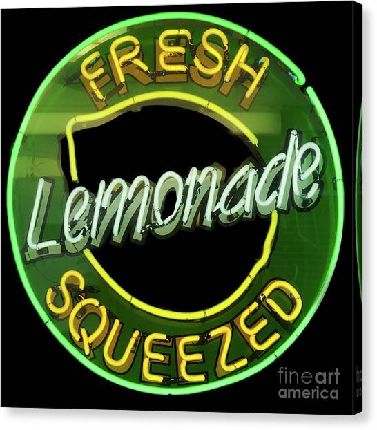Fresh Squeezed Lemonade Canvas Print