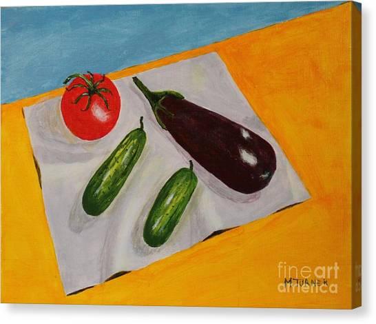 Fresh Vegies Canvas Print