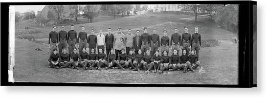 University Of Washington Canvas Print - Freshman Football Squad, Catholic by Fred Schutz Collection