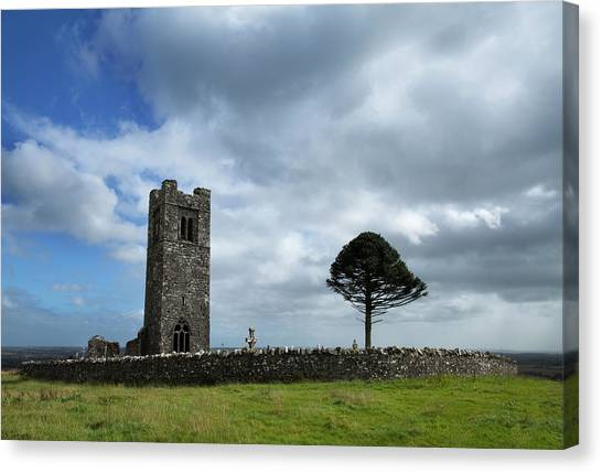 Early Christian Art Canvas Print - Friary Church Built In 1512 By One by Panoramic Images