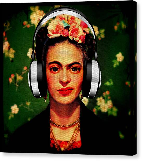 Frida Jams Canvas Print