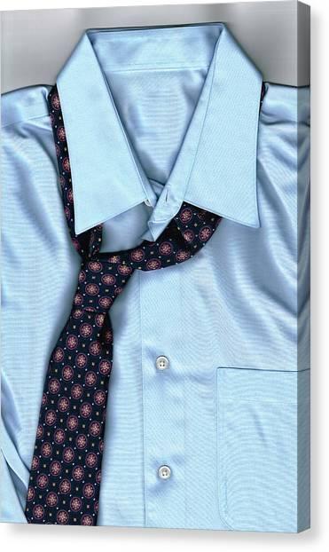 Clothing Store Canvas Print - Friday Night - Men's Fashion Art By Sharon Cummings by Sharon Cummings