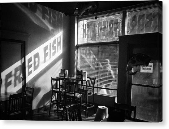 Fried Fish Canvas Print by William Spangler