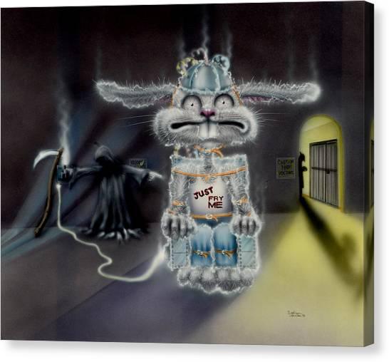 Fried Rabbit Canvas Print