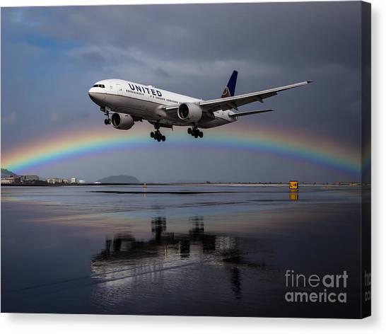 Friendly Skies Canvas Print