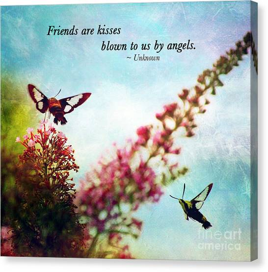 Friends Are .....  Canvas Print