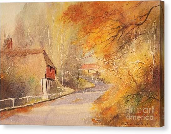 Frogholt Kent Canvas Print