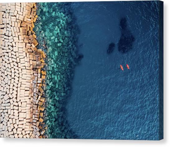 Bricks Canvas Print - From Above II by Antonio Carrillo Lopez