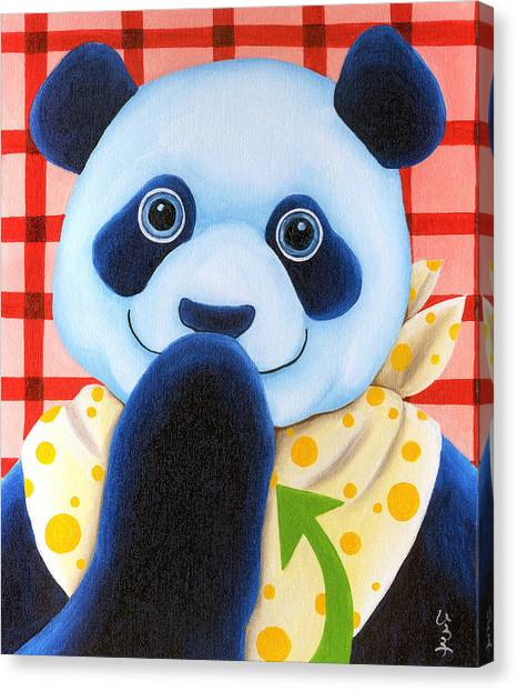 Canvas Print - From Okin The Panda Illustration 11 by Hiroko Sakai