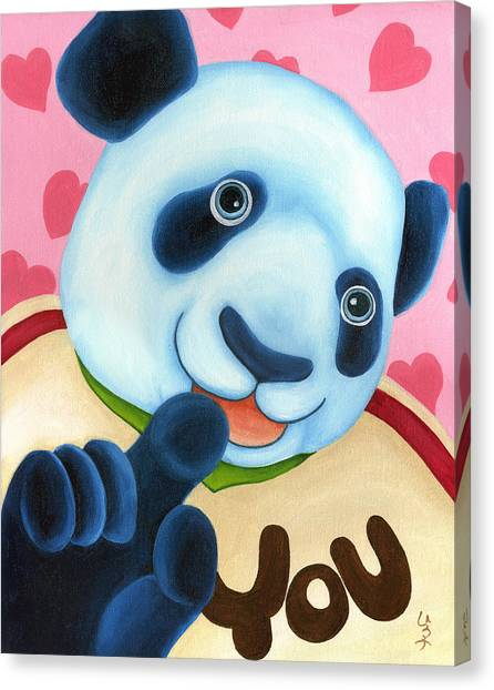 Canvas Print - From Okin The Panda Illustration 16 by Hiroko Sakai