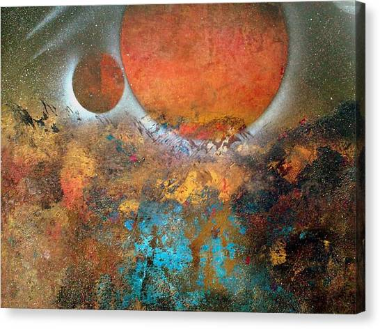 From Planet's View Canvas Print